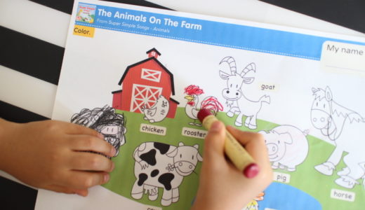 YouTubeと連動した無料えいご教材が驚きの790種!幼児が今すぐ出来る英語プリント。