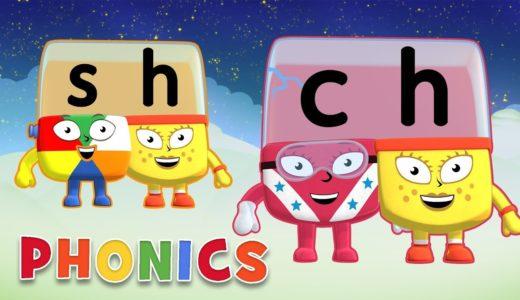 英語のフォニックスを無料で学べる方法を無料で書きます。Alphablocksの活用。