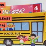 ポピーキッズイングリッシュのスクールバス収納ケース