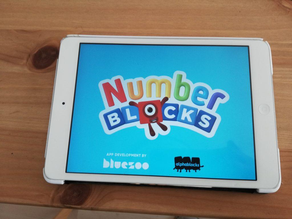 numberblocksで英語で算数を学べるアプリ