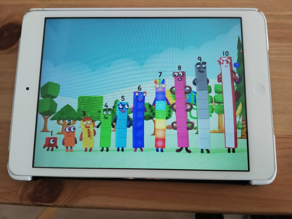 Numberblocks hide&seek app numberblocksで英語で算数を学ぶ