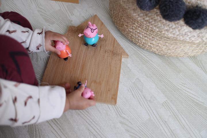 ペッパピッグのおもちゃ