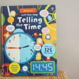 時刻表現が学べる英語絵本Telling the time