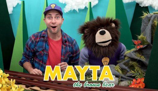 英語で色水遊び!MAYTA The Brown Bear.