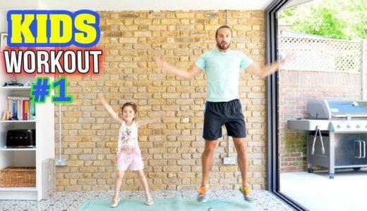 室内フィットネス&ダンス子供向け英語動画まとめ(追加更新)