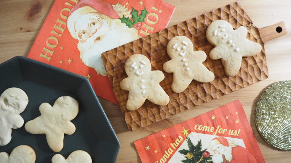 Gingerbreadmanクッキー