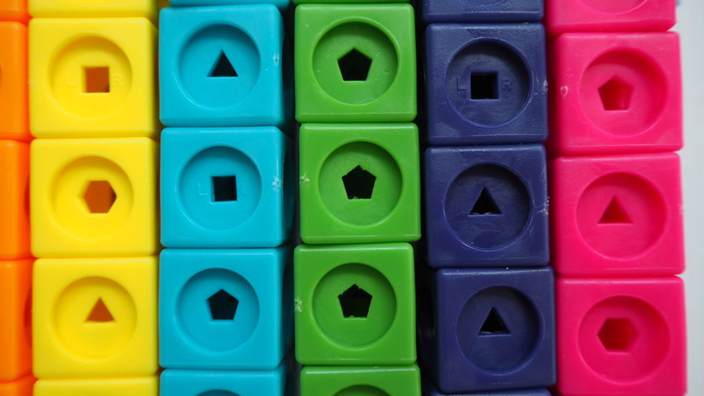 quality check of numberblocks cubes
