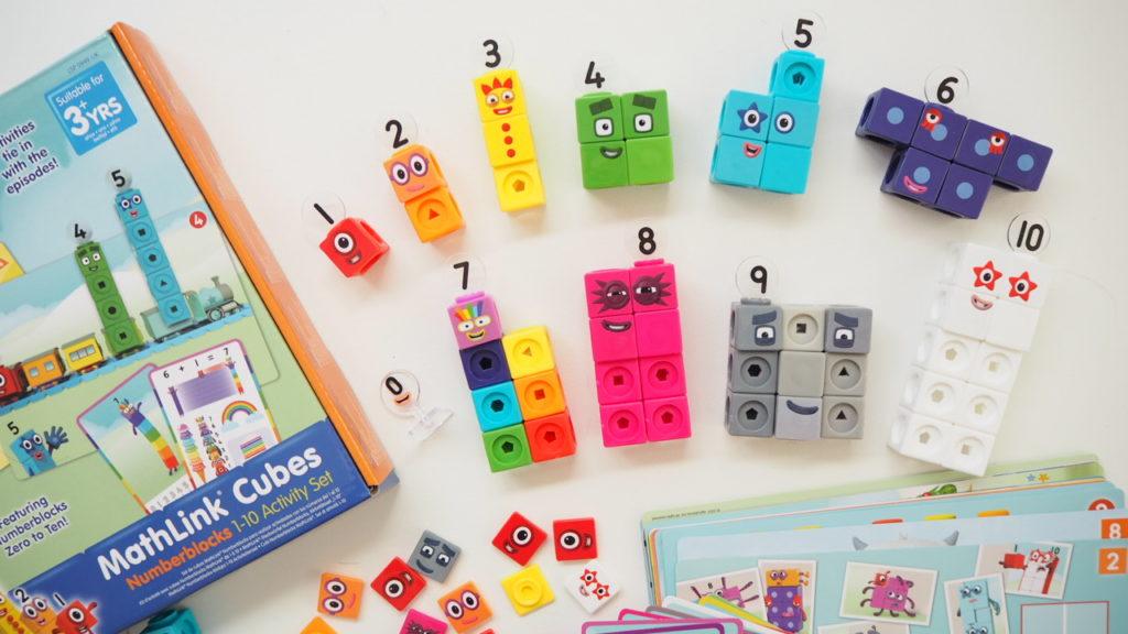 Numberblocks toy Learning Resorces mathlinkcubes blocks