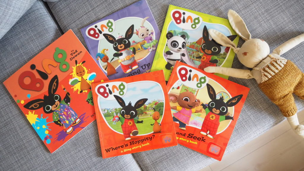 Bing Bunny story books review