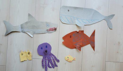 海の生き物のうた「Slippery Fish」